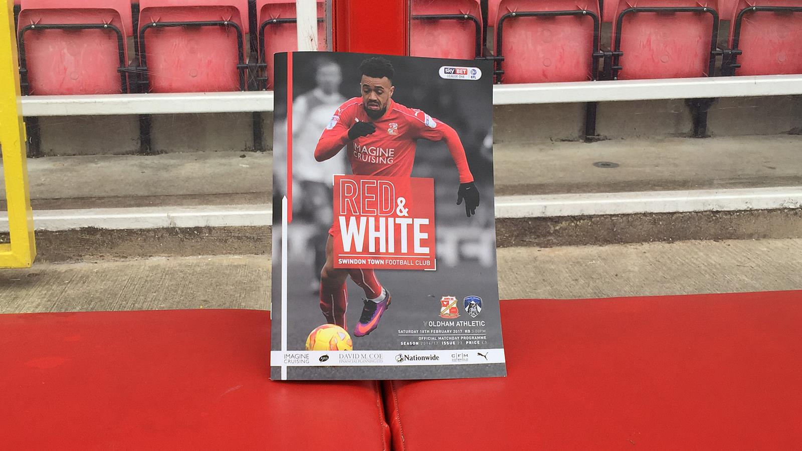 Grab Your Copy of R&W Today! - News - Swindon Town
