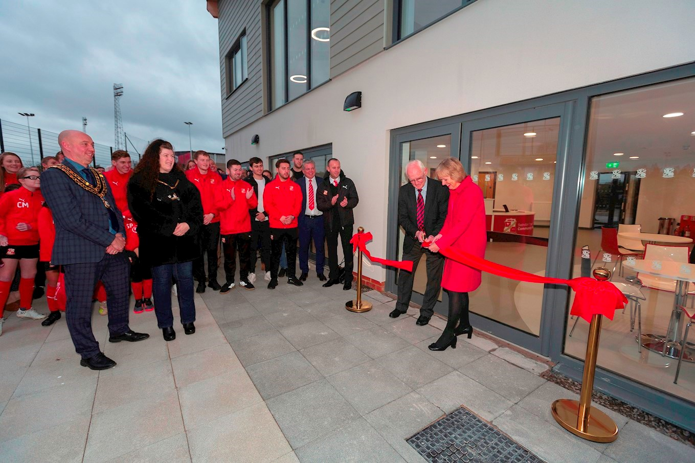 Foundation Park Opened News Swindon Town