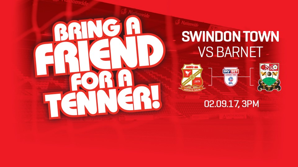 Barnet 'Bring A Friend For A Tenner' Promotion! - News