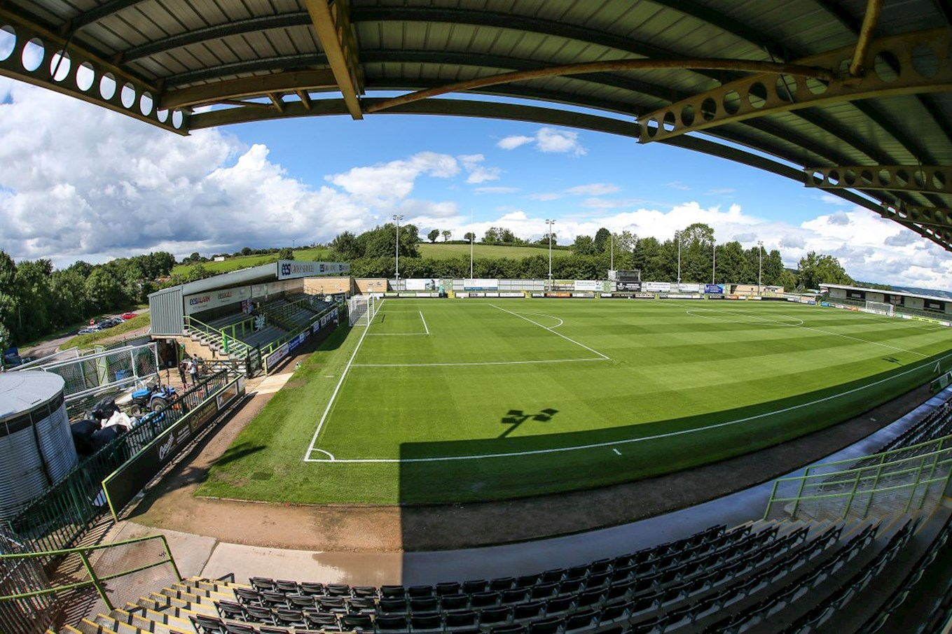 Priority Windows In Place For Forest Green Fixture - News ...
